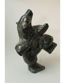 Dancing Bear by Enook Manomie
